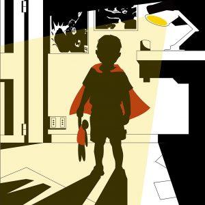 Ulysses Evangelisti - infanzia da super