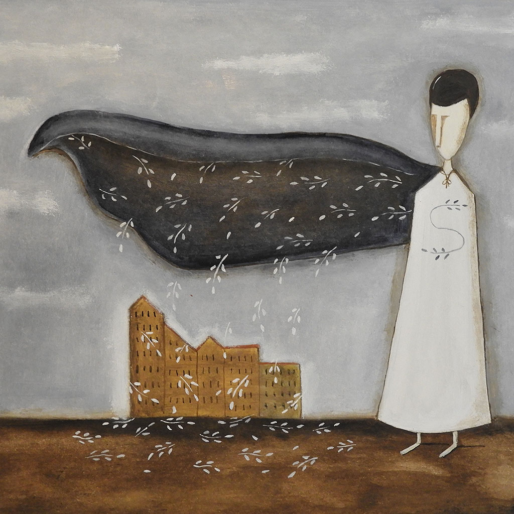 silvia beneforti - Something super over the city
