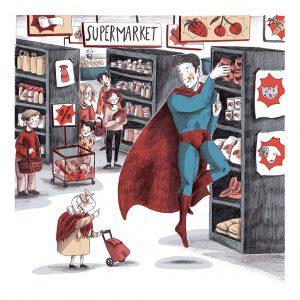 sara dealbera - supermarket