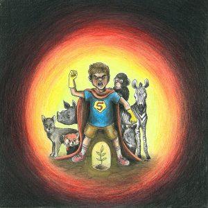 Marco Mattia Biasiolo - Green Hero: il supereroe del futuro