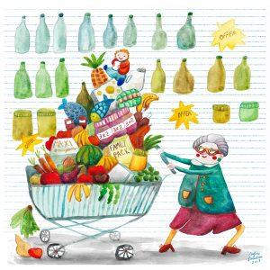Sofia Fiorentini - Supernonna al supermercato