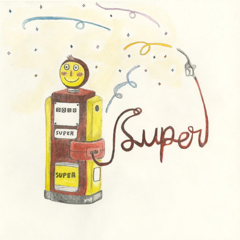Silvia Baldisserotto - La benzina super