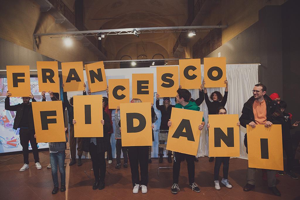 Super - Nomina del vincitore del concorso Francesco Fidani